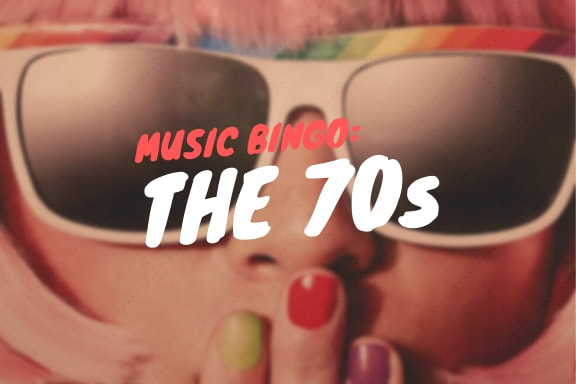 Music Bingo: The 70s