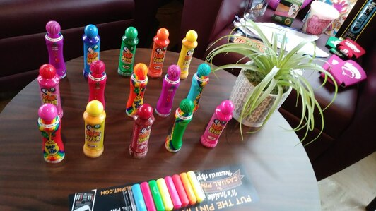 Markers for your Music Bingo party